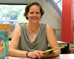 Vice President of the Columbia Public Library Board Lisa Groshong