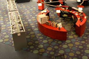 New Carpet at the Columbia Public Library